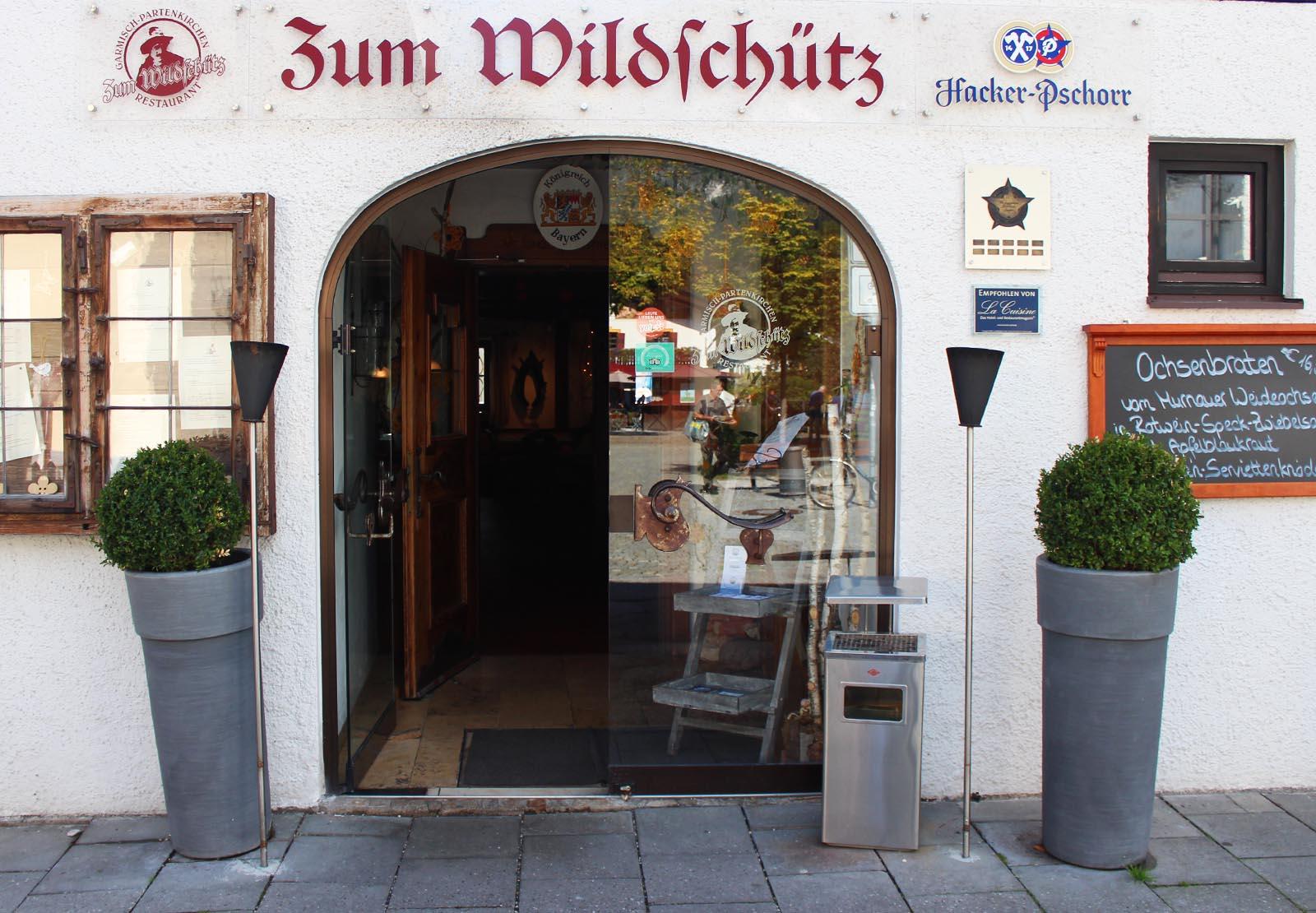 Zum Wildschütz Garmisch Speisekarte